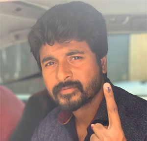 EC Orders Action Against Poll Officials Who Let Actor Sivakarthikeyan Vote
