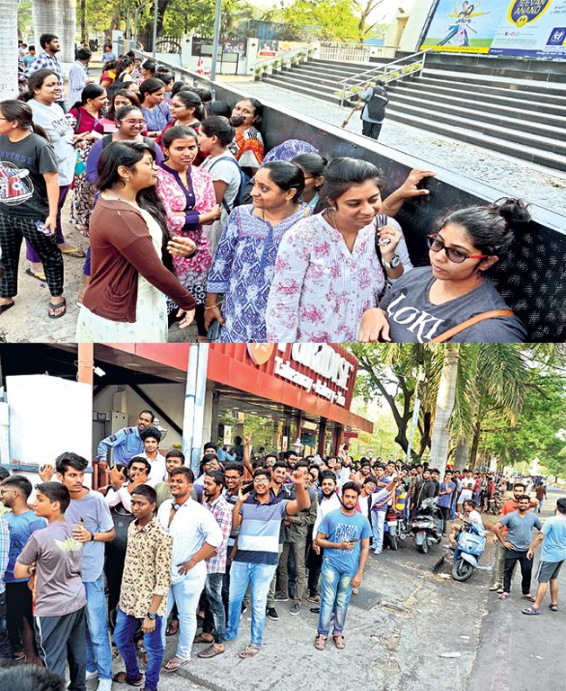 Huge Craze for Avengers End Game movie in Telugu States