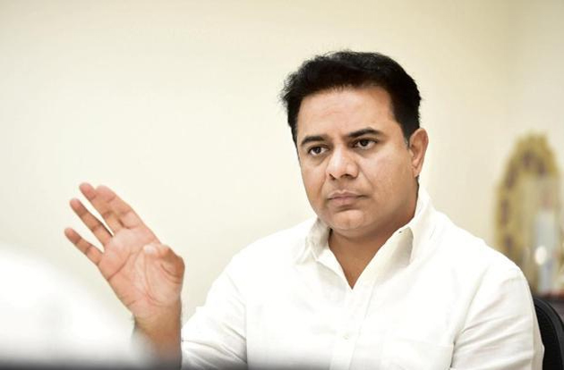 KTR Gives B Forms To Gandra Venkata Ramana Reddy Before He Joins TRS
