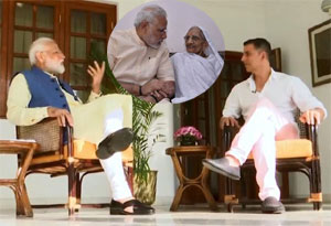 PM Modi On Why His Mother Does Not Live With Him