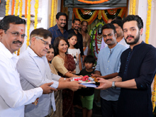 Akhil New Movie Launch Photos