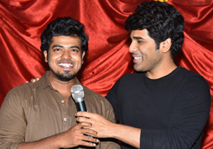 Allu Sirish At Bramarabha Theater Photos