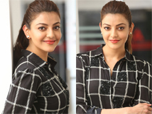Kajal Agarwal Interview Photos