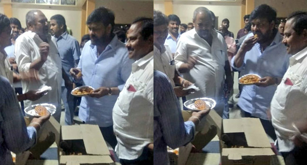 People Star Makes Megastar Eat Pakoras