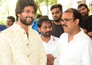 Vijay Devarakonda Hero Movie Launch Photos