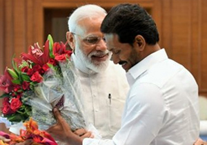 YS Jagan Meets Narendra Modi Photos