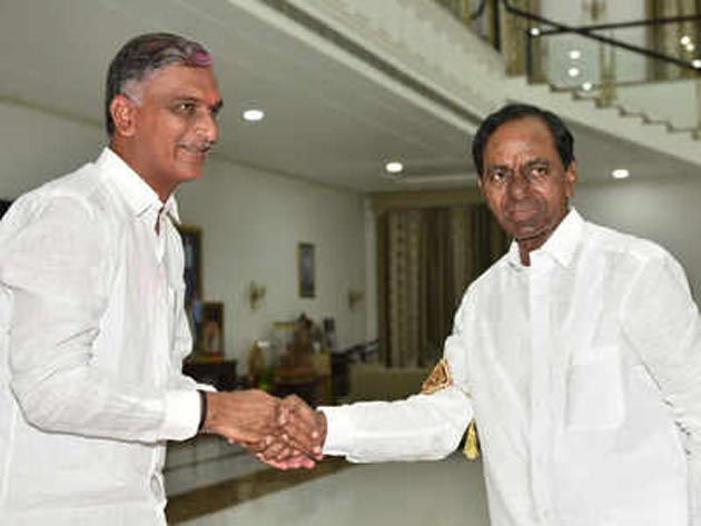 Is KCR Planning To Include Harish Rao In His Cabinet?