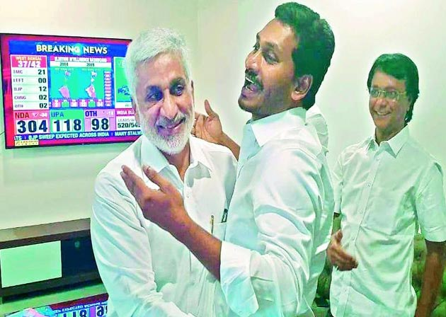 Jagan Gives Another Key Post To Vijay Sai Reddy