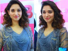 Tamanna Launches B New Mobile Store at Karimnagar Photos