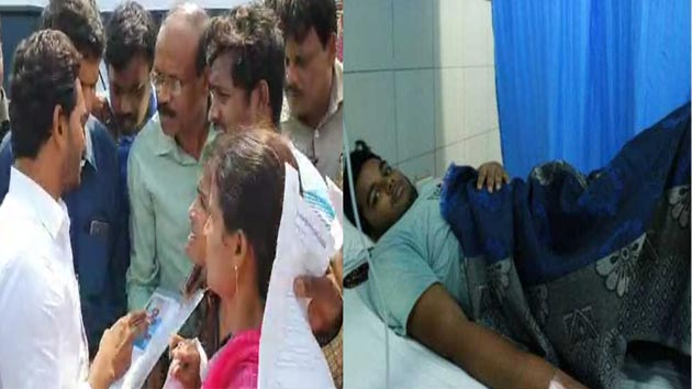 YS Jagan Mohan Reddy help a cancer patient in Visakhapatnam