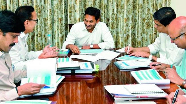 Jagan on About Andhra Budget