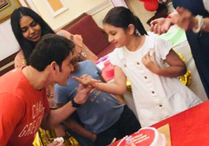 Mahesh Babu Daughter Sitara Birthday Celebrations Photos