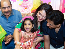 Sridevi Vijaykumar Rahul Daughter Rupikaa 3rd Birthday Photos
