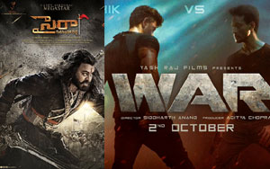 Sye Raa Gets Tough Fight With WAR Movie