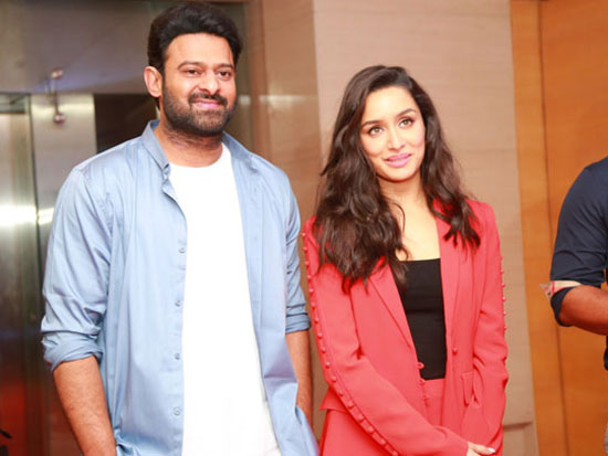 Saaho Chennai PressMeet Photos