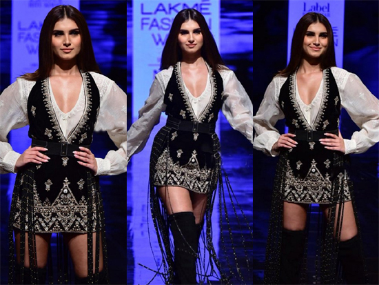 Tara Sutaria walks The Ramp At Lakme Fashion Week