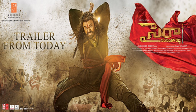 Get Ready for Chiranjeevi Sye Raa Movie Trailer