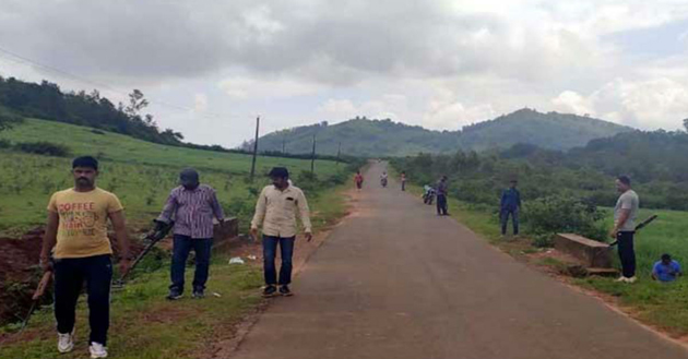 Maoist Action Team Search Operation In AOB