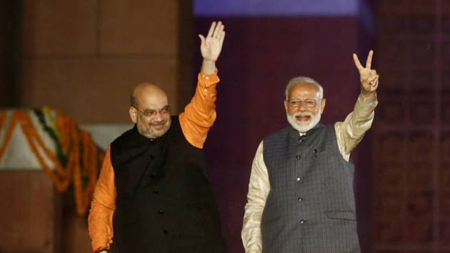Narendra Modi and Amit Shah One Number Sentiment
