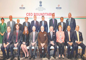PM Narendra Modi holds meeting with CEOs from energy sector