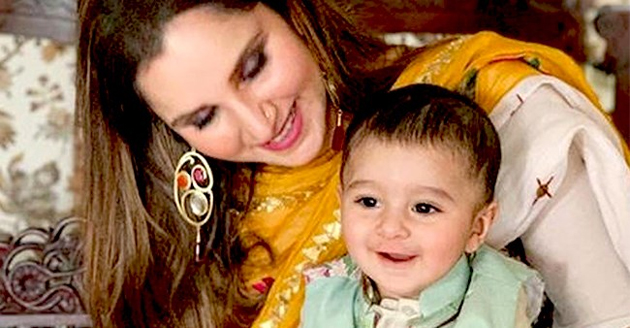 Sania Mirza has revealed that two nights before giving birth to her son Izhaan