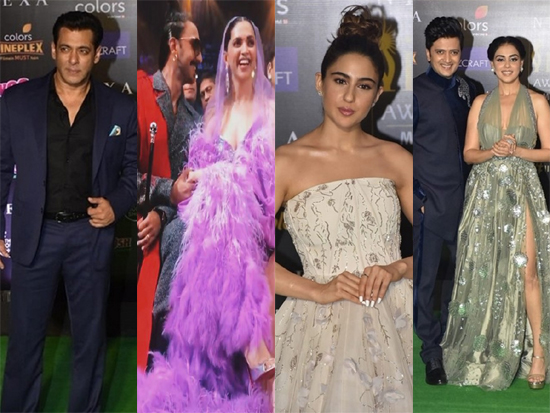Celebs at IIFA Awards 2019 Photos
