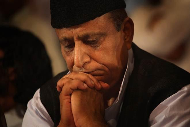 Azam Khan, Accused of Stealing Goats and Hens, Breaks Down at UP Rally