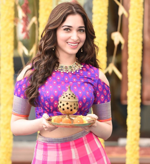 Tamanna In Saree In Rebel: Harassment Unlimited But Tamannah Bhatia Ready