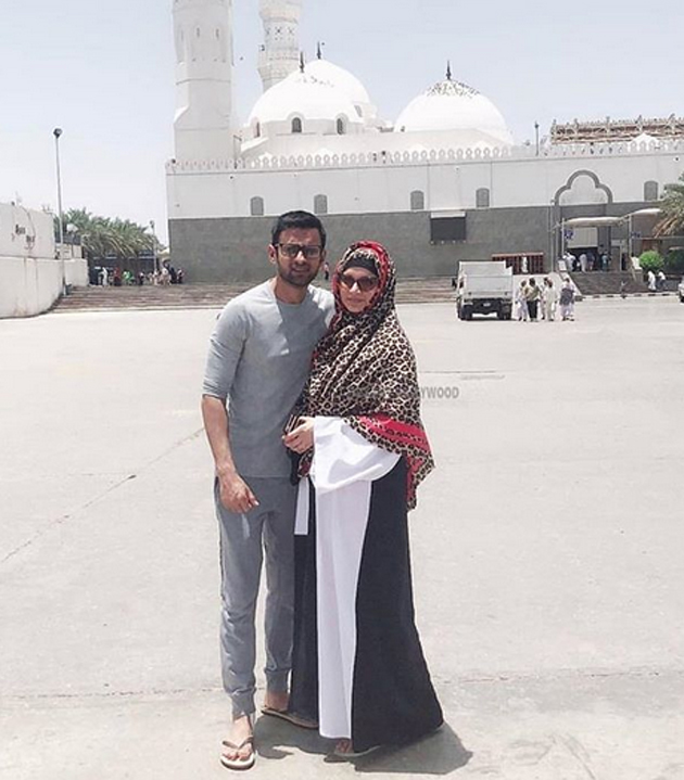 Viral News News And Photos: Sania Mirza And Shoaib Malik On Umrah Pilgrimage