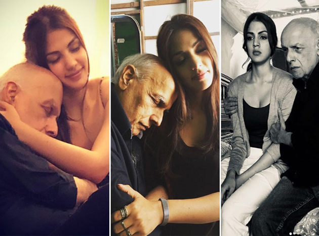 Rhea Chakraborty Trolled For Sharing Picture With Mahesh Bhatt