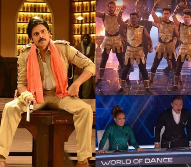 Viral News News And Photos: Pawan Kalyan Song In World Of Dance World Finals 2019