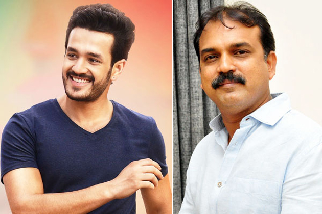 Akhil with another block buster director
