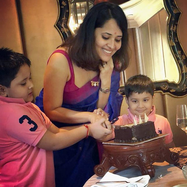 Anasuya Birthday Celebrations Photos