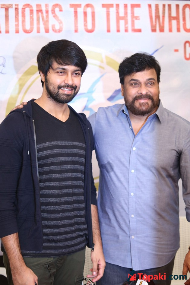 Chiranjeevi Congrats To Vijetha Team Photos