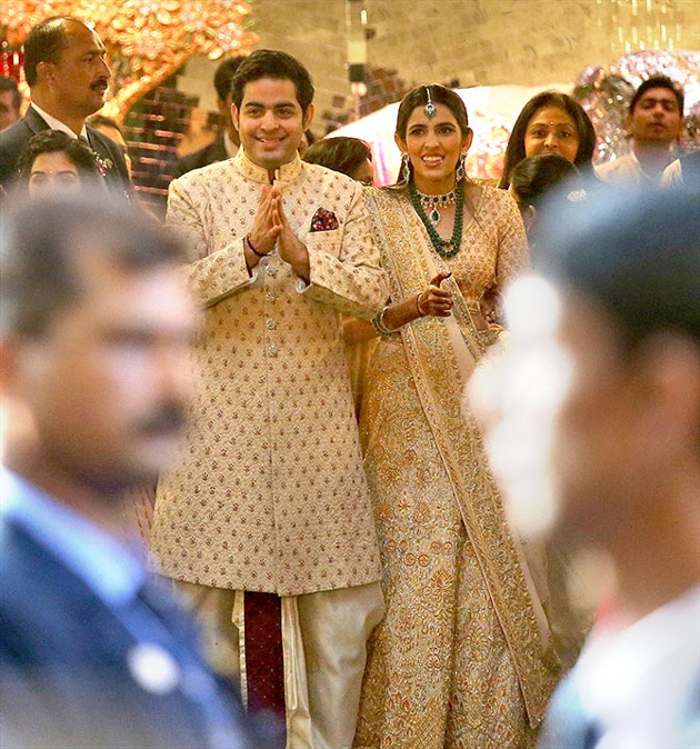 Celebs At Isha and Anand  Wedding  Photos