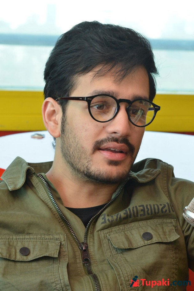 Akhil Akkineni At Radio Mirchi Photos