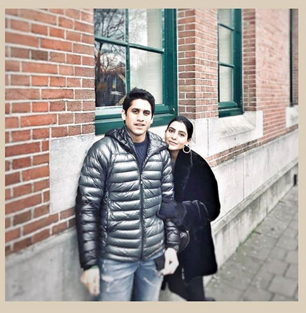 Naga Chaitanya And Samantha Chill At Netherlands Photos