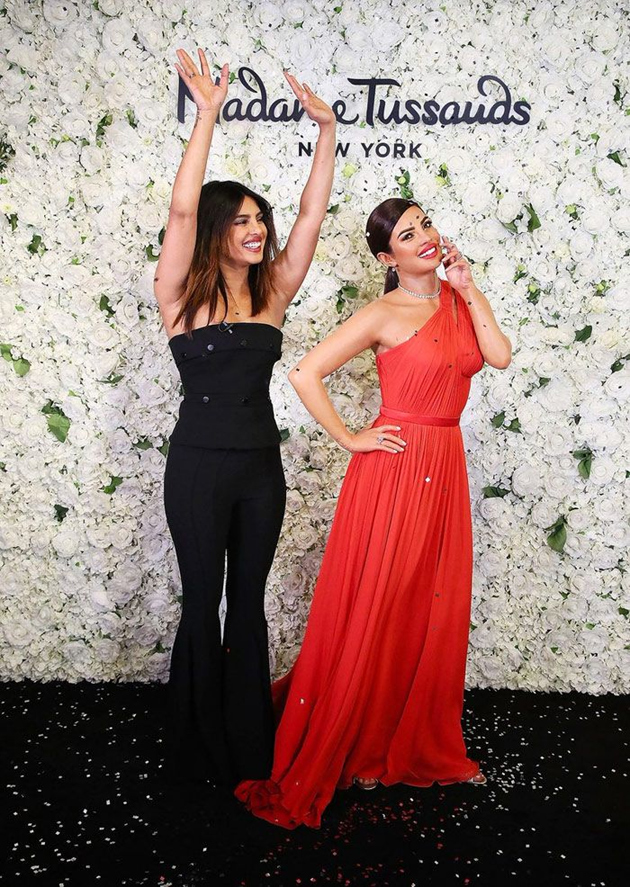 Priyanka Chopra Gets A Wax Statue At Madame Tussauds Pics