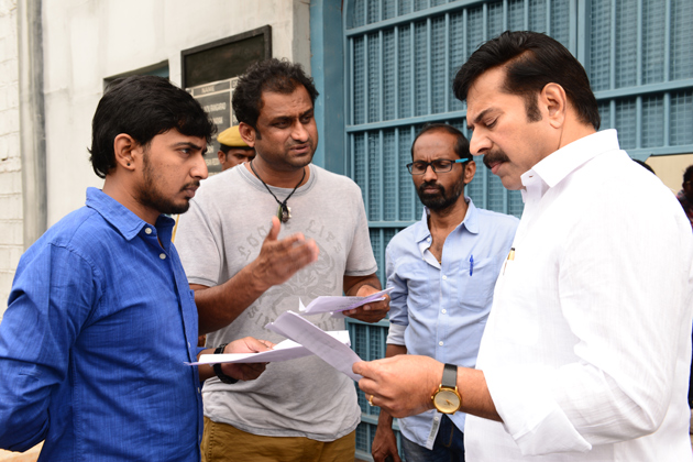 Yatra Movie Working Photos