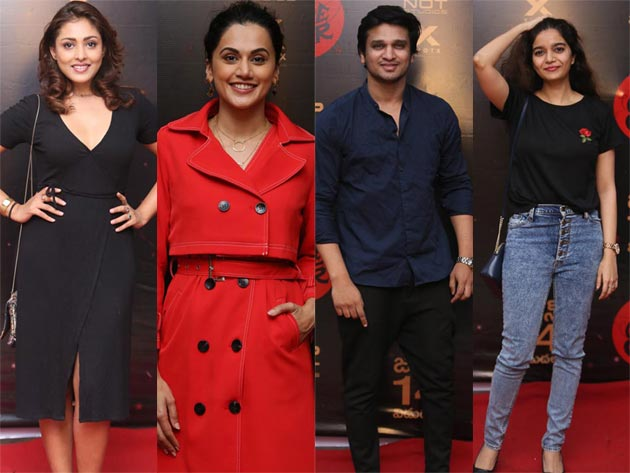 Celebs At Game Over Movie Preview Photos