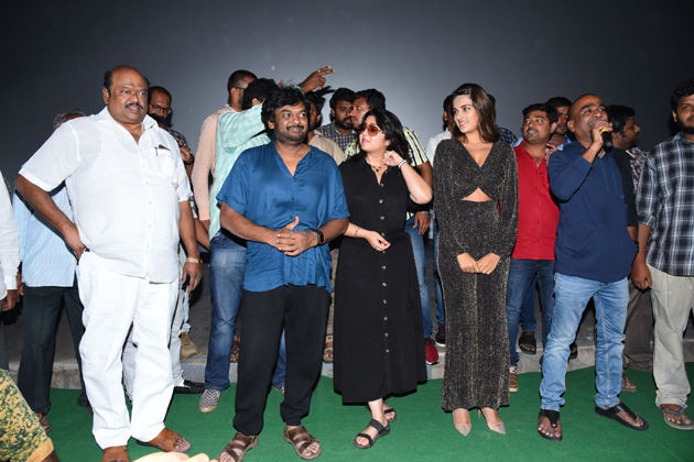 ISmart Shankar Movie Success Tour At Vijayawada Photos