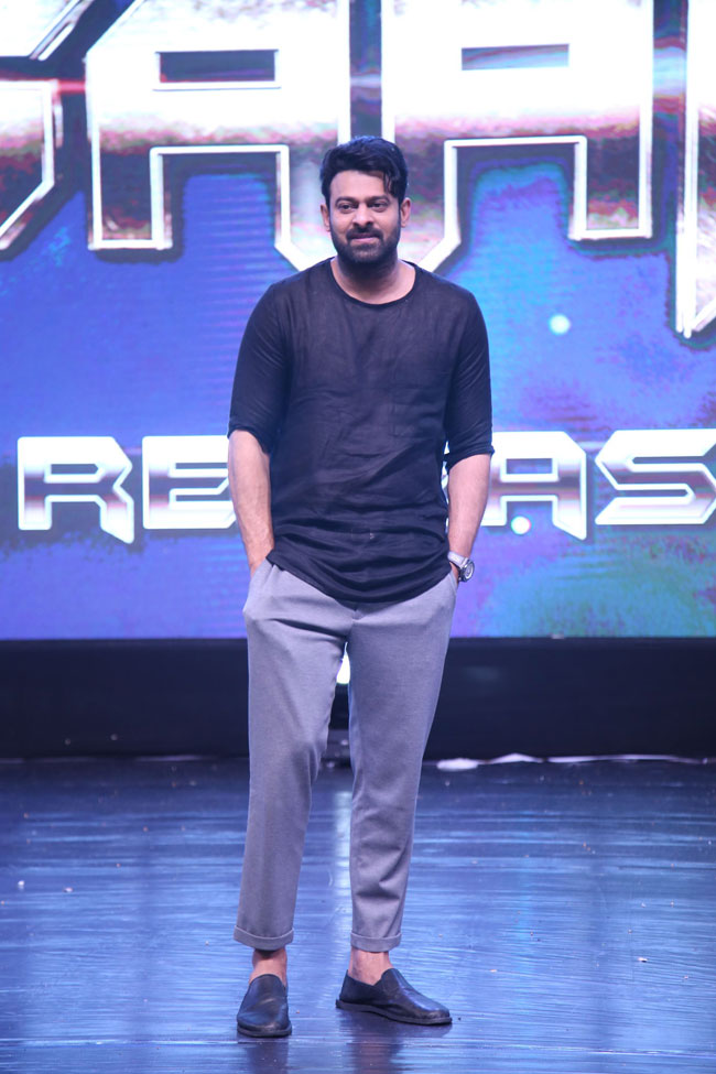 Saaho Pre Release Event Photos-4