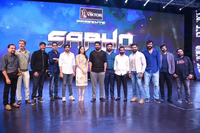 Saaho Pre Release Event Photos-5