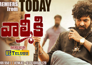 Valmiki Movie USA Theaters List