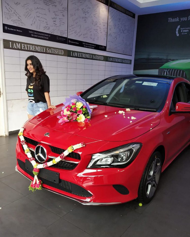 Nabha Natesh Buys Mercedes Car