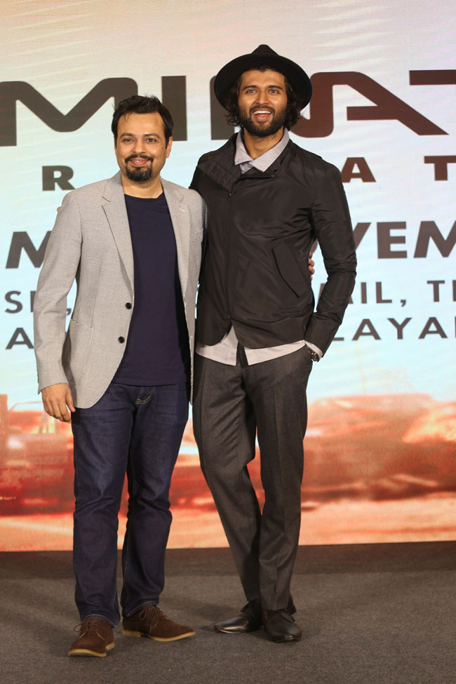 Terminator Dark Fate Telugu Trailer Launch By Vijay Deverakonda