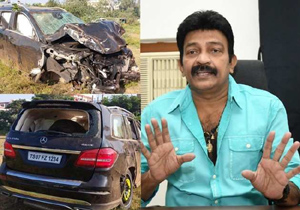 Hero Rajasekhars  speed in the Car accident