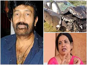 Jeevitha On RajaSekhar Car Accident