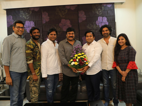 Megastar Chiranjeevi Appreciates George Reddy Movie Team