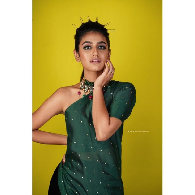 Priya Prakash Varrier New Photo Shoot